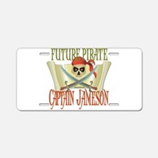 Captain Jameson Aluminum License Plate