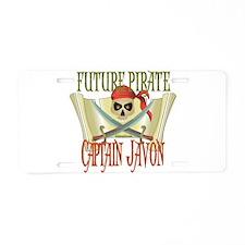 Captain Javon Aluminum License Plate