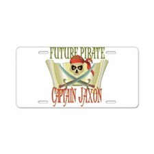 Captain Jaxon Aluminum License Plate