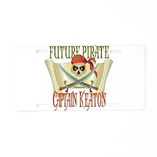 Captain Keaton Aluminum License Plate