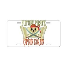 Captain Korbin Aluminum License Plate