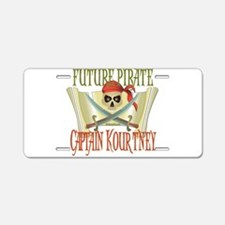 Captain Kourtney Aluminum License Plate