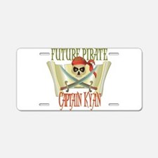 Captain Kyan Aluminum License Plate