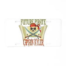 Captain Kyler Aluminum License Plate