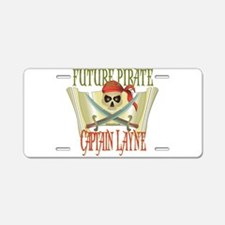 Captain Layne Aluminum License Plate