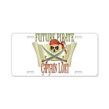 Captain Loki Aluminum License Plate