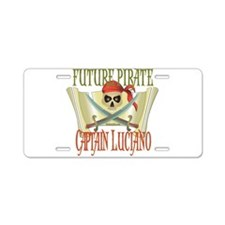 Captain Luciano Aluminum License Plate