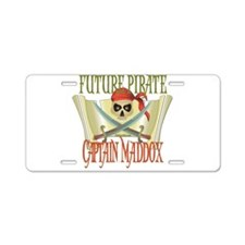 Captain Maddox Aluminum License Plate