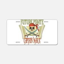 Captain Mark Aluminum License Plate