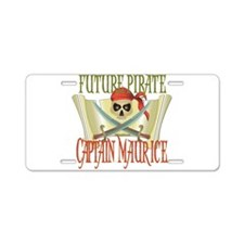 Captain Maurice Aluminum License Plate