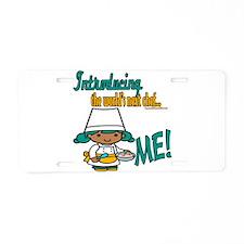 Future Chefs Aluminum License Plate