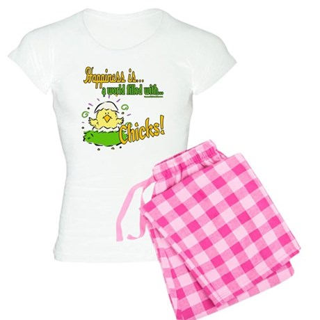 Happiness is a Chick Women's Light Pajamas
