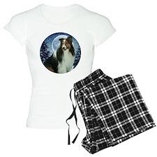 Winter Sheltie pajamas