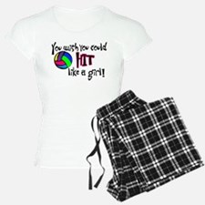 You Wish You Could Hit Like a Girl Pajamas
