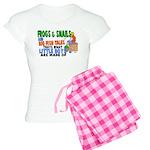 Frogs & Snails Women's Light Pajamas