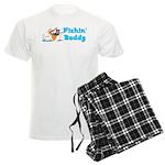 Fishing Buddy Men's Light Pajamas