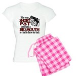 Short, Fat and a Big Mouth Women's Light Pajamas