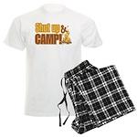 Shut up and camp. Men's Light Pajamas