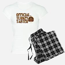 fficial Turkey Taster Pajamas