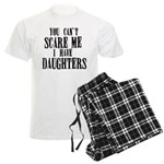 You Can't Scare Me - Daughte Men's Light Pajamas