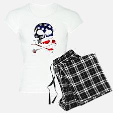 4th of July Skull Pajamas