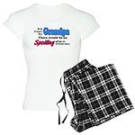 Grandpa - No Spoiling! Women's Light Pajamas