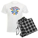 Daycare - Circle of fun! Men's Light Pajamas
