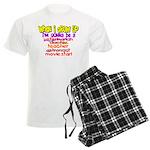 When I Grow Up Men's Light Pajamas