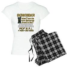 Remember when? Pajamas