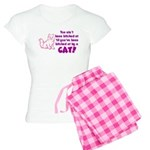 Bitched at by a Cat Women's Light Pajamas
