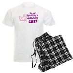 Bitched at by a Cat Men's Light Pajamas