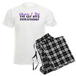 When I Die - Cat Men's Light Pajamas