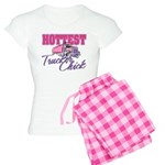 Hottest Trucker Chick Women's Light Pajamas