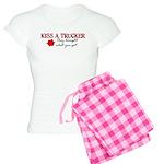 Kiss a Trucker Women's Light Pajamas