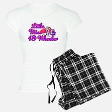 Little Miss 18-Wheeler Pajamas