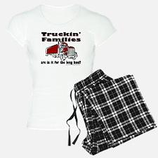 Truckin' Families Pajamas