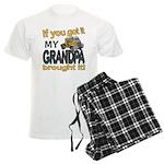 Grandpa Brought it Men's Light Pajamas