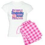 Scrapbooking Retreats Shhh! Women's Light Pajamas