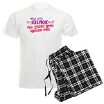 Mess With My Scrapbook Men's Light Pajamas