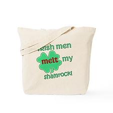 Irish Men Melt my Shamrock Tote Bag