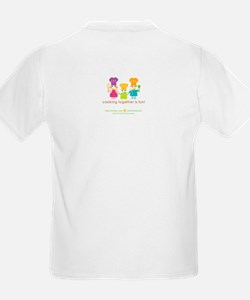 """Kid's """"Sous Chef"""" T-Shirt (family on back)"""