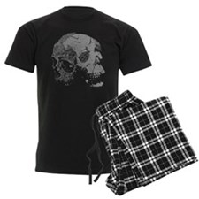 Skulls Double Time Pajamas