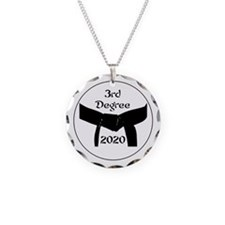 3rd Degree Black Belt Necklace