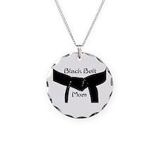 Black Belt Mom Necklace