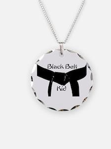 Black Belt Kid Necklace