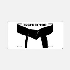 Martial Arts Instructor Aluminum License Plate