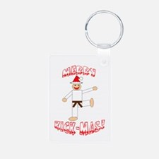 Martial Arts Christmas Keychains
