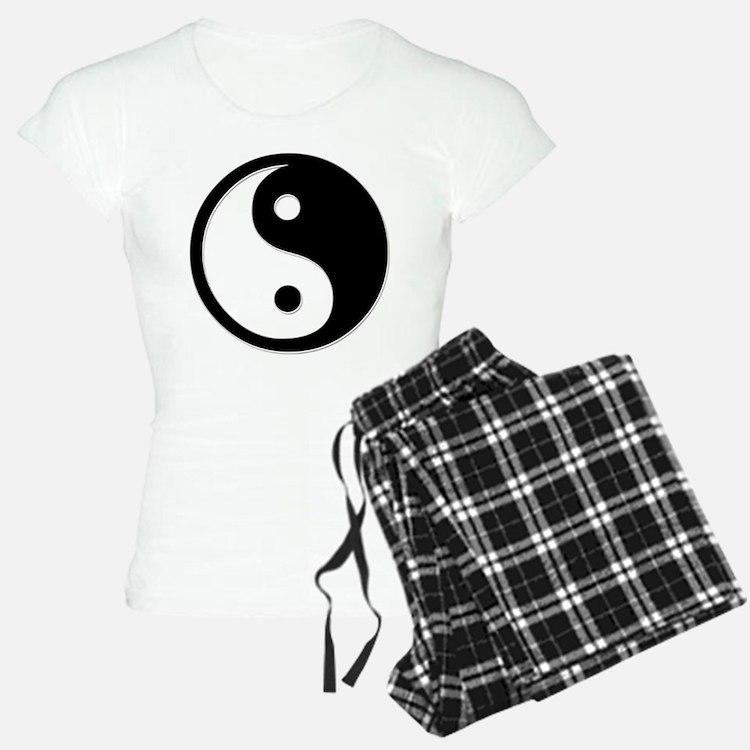 Black Yin Yang Pajamas