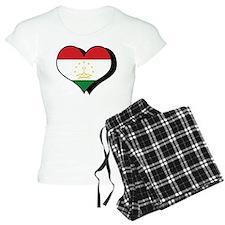 I Love Tajikistan Pajamas