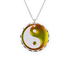 Sunshine Yin Yang Necklace